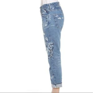 Ag Adriano Goldschmied Jeans - AG THE EX-BOYFRIEND SLIM 15 YEAR PAINTERS EMBROID